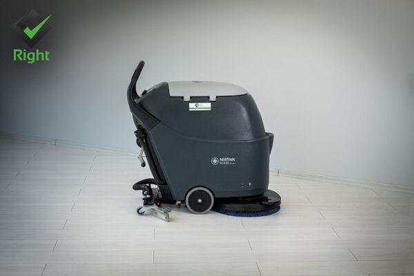 Машина за почистване на под на батерии - Nilfisk SC 430