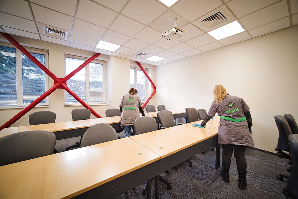 Почистване на офиси и конферентни зали