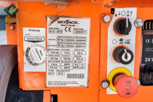 Вишка SKYJACK SJ III - 3219